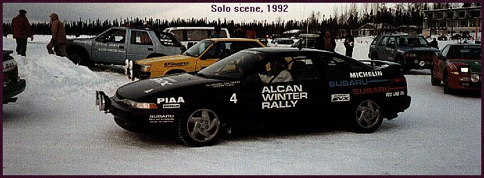=( no picture from '91. But here is SVX with modified head lamp on Alcan 2000