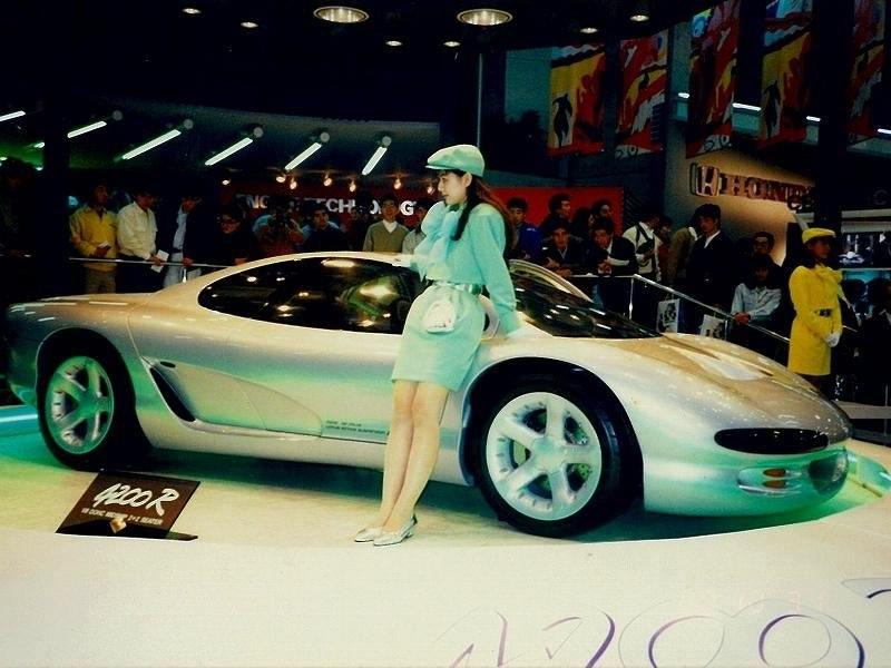 tokyo motor show 1989 Isuzu 4200R specification data gt