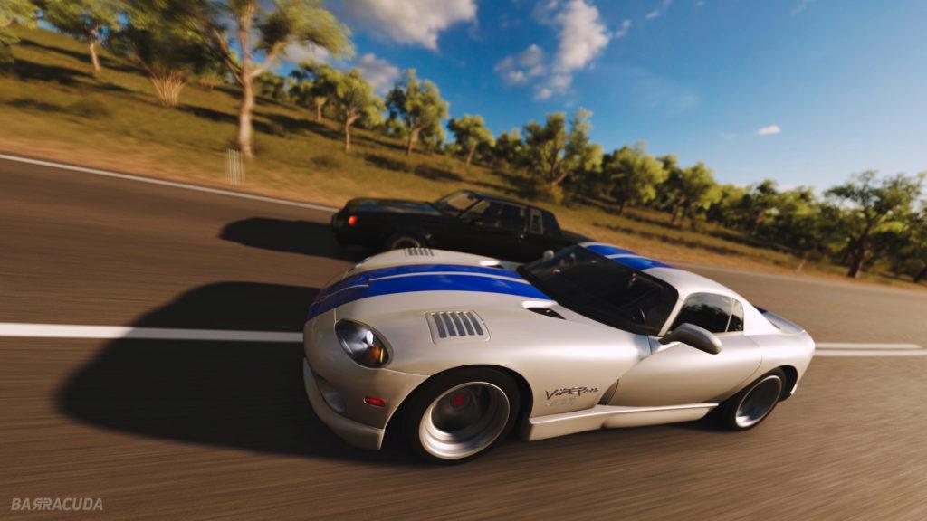 Dodge Viper GT Forza horizon gtcamp