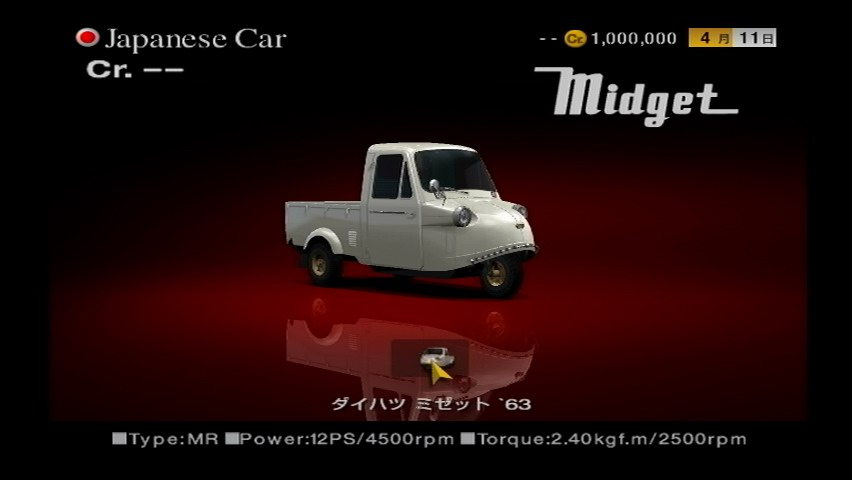 Confirm. And Daihatsu midget i length