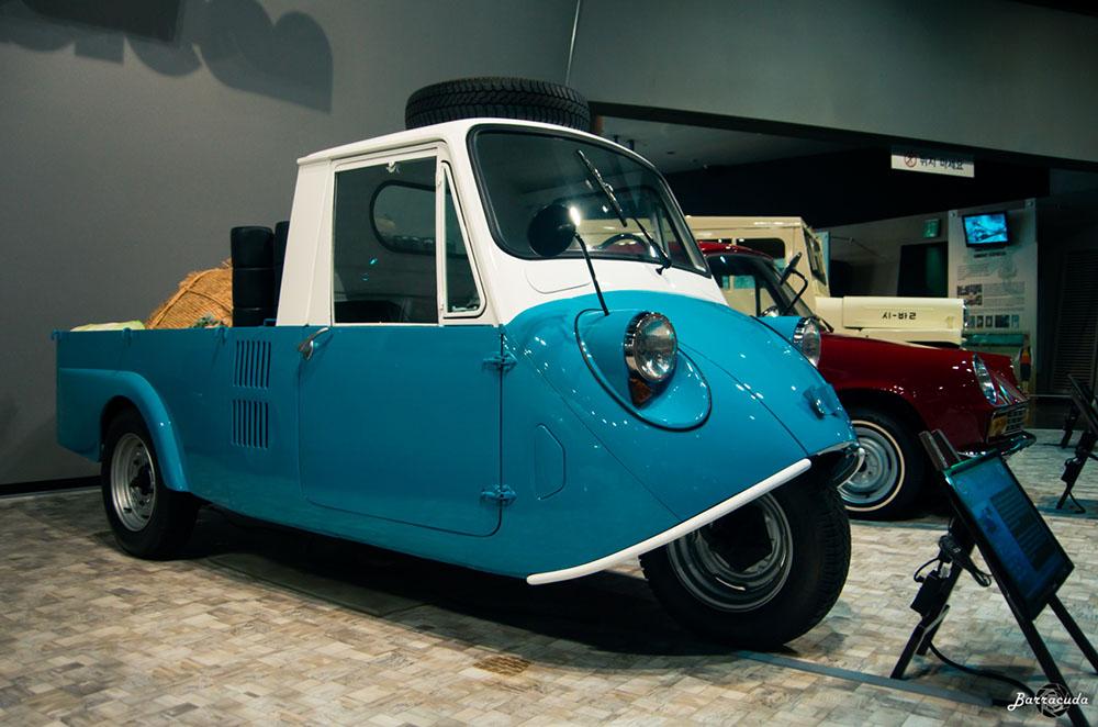 Kia T600 in Samsung Transportation Museum