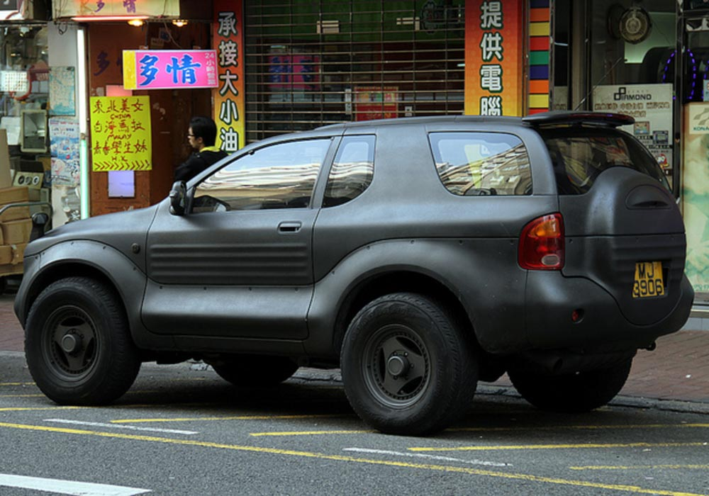 Isuzu VehiCROSS Hong Kong CHina
