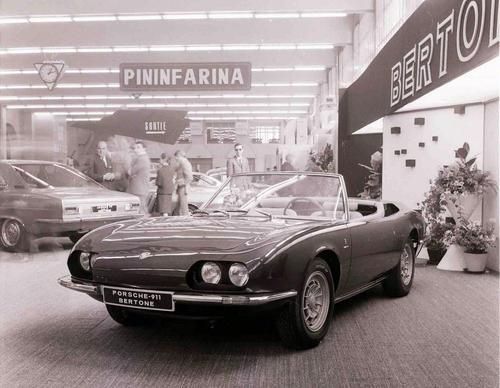Porsche 911 Geneva 1966 Roadster Bertone '66 specs data gt