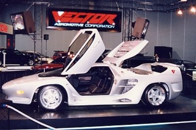 Vector WX-3 at 1993 Geneva auto show