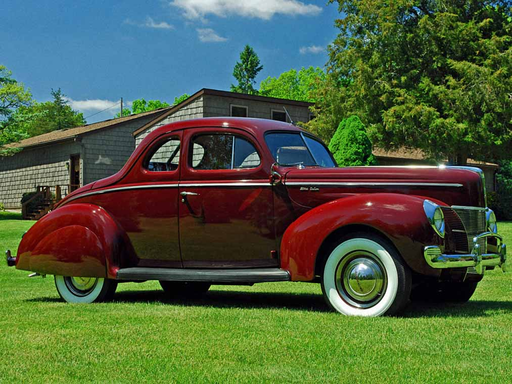 Ford V8 Deluxe specs history
